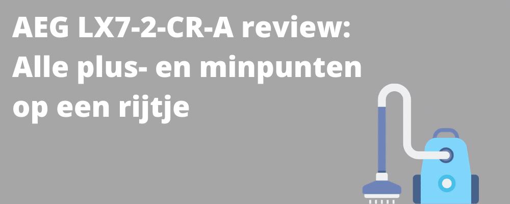 AEG LX7-2-CR-A review