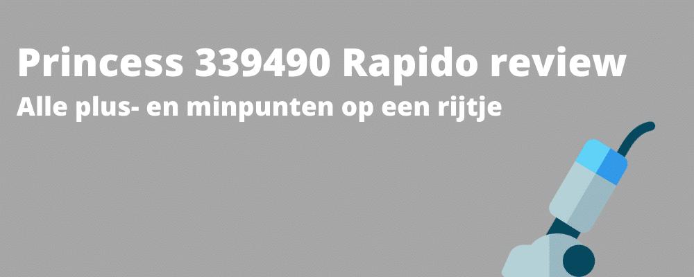 Princess 339490 Rapido review